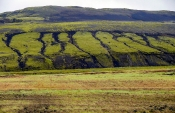 Erosions-Rinnen