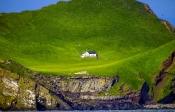 Haus auf der Insel Heimaey